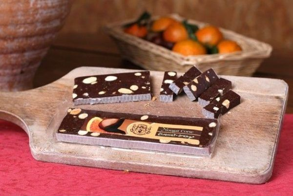 NOUGAT AU CHOCOLAT - ORANGE corse