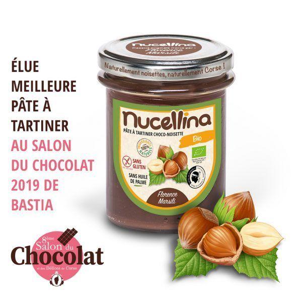 NUCELLINA - PÂTE À TARTINER CHOCO-NOISETTE bio corse