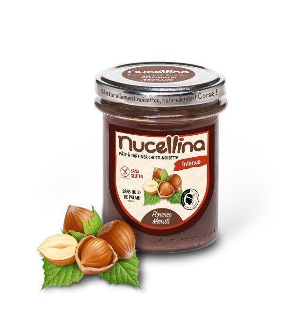 NUCELLINA - PÂTE À TARTINER CHOCO-NOISETTE INTENSE-corse