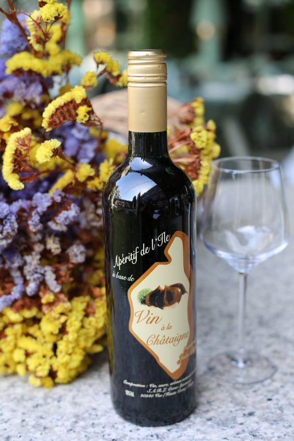 vin apéritif de châtaigne 75 cl-corse