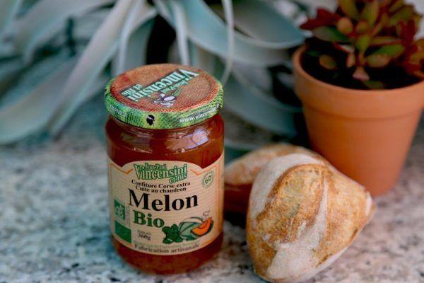 confiture bio melon-corse