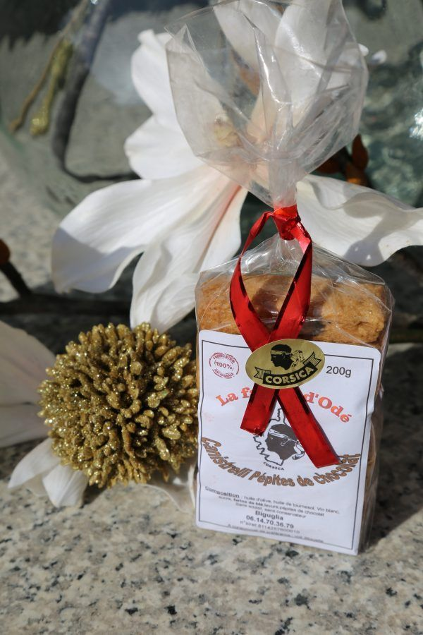CANISTRELLI PÉPITES DE CHOCOLAT 200 GR-corse