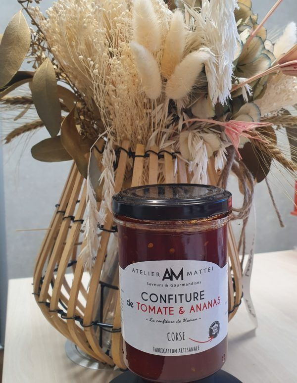 CONFITURE TOMATE ET ANANAS-corse