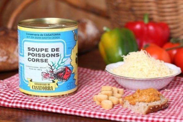 SOUPE DE POISSONS 4/4-corse
