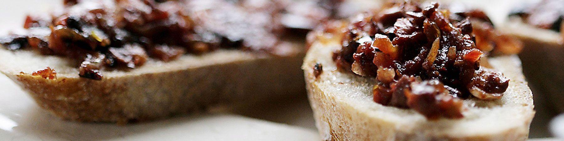 Tapenades -pâtes d'olives